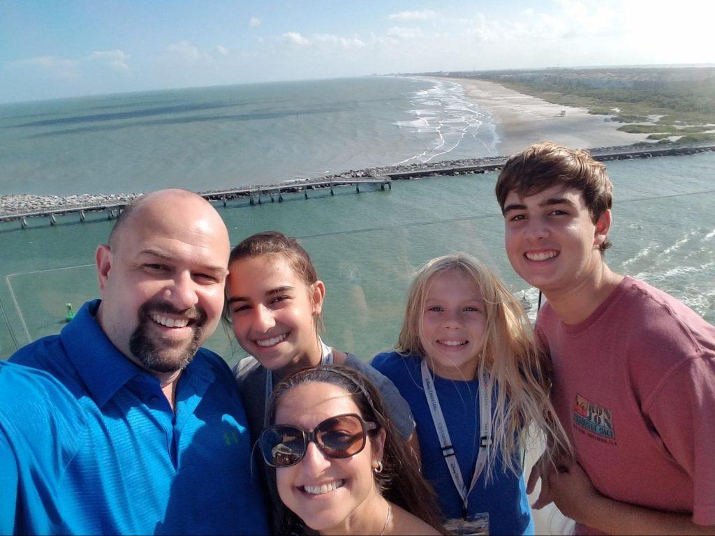 Pat Flynn's Family on Vacation
